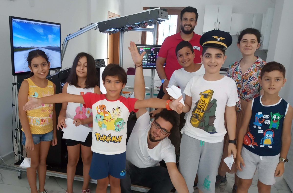 Çocuklar İçin Sanal Havacılık